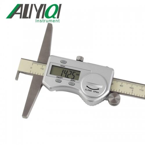 艾力Aliyiqi单钩数显深度尺0-150