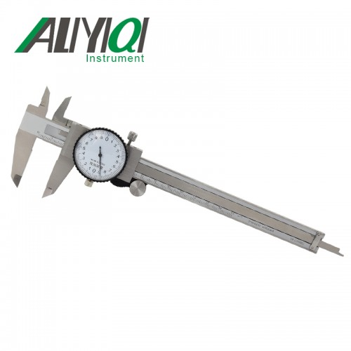 Aliyiqi艾力0-150双向防震带表卡尺